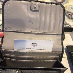 Coach Bags - Coach grey wallet